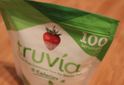 a packet of stevia
