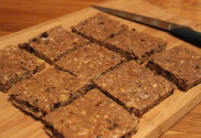 protein heaven bars fresh out of the oven