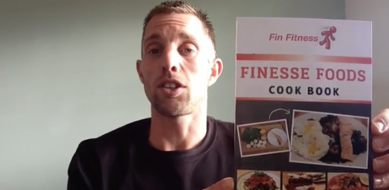 Screenshot of Personal Trainer giving a testimonial about Fitpro Recipes